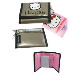 portefeuille hello kitty retro glammy argent