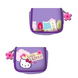 porte-monnaie hello kitty bakery mauve