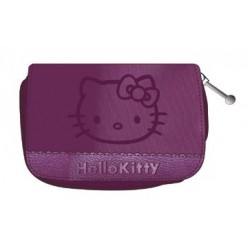 porte monnaie hello kitty couture gris