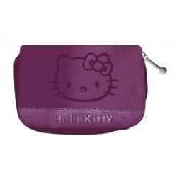 porte monnaie hello kitty couture gris