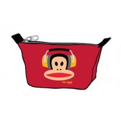 porte- monnaie paul frank écouteur rouge