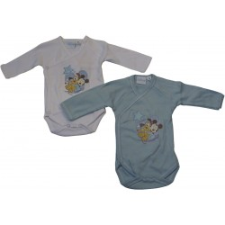 lot 2 body disney mickey et pluto (1 à 6 mois)