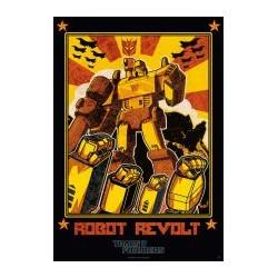 poster transformers : robot revolt