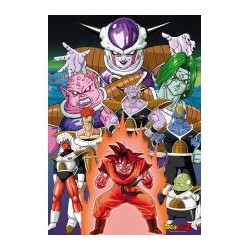 poster dragon ball z : son goku sur namec
