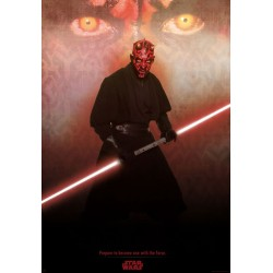 poster star wars : dark maul