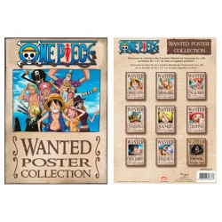 portfolio one piece 9 affiches wanted