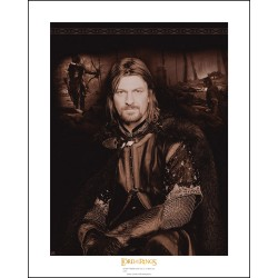 artprint collector the lord of the ring : boromir