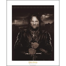 artprint collector the lord of the ring : aragorn