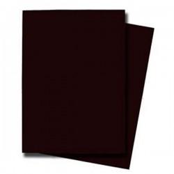 50 sleeves de couleur chocolat