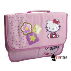 cartable hello kitty cookie 36 cm rose