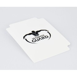 10 intercalaires pour cartes card dividers taille standard blanc