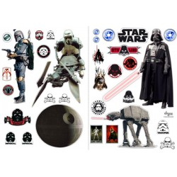 stickers muraux star wars l'empire