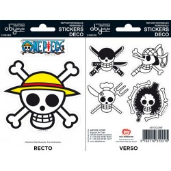 mini stickers one piece : pirates flag