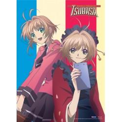 poster en tissu - tsubasa chronicles duo sakura