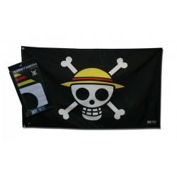 drapeau one piece skull - luffy 70 x 120