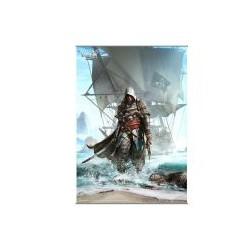 assassin's creed iv black flag - wall scroll volume 1