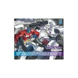 tapis de souris transformers - optimus prime vs megatron