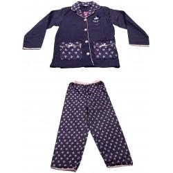pyjama minnie flanelle violet (2 à 6 ans)