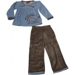 pyjama snoopy bleu (2 à 6 ans)