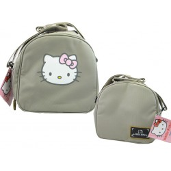 sac gouter fashion hello kitty taupe
