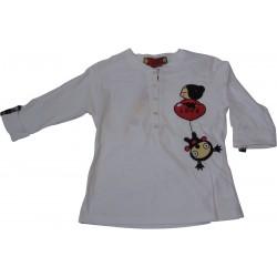 pyjama pucca carré rouge (8 à 14 ans)