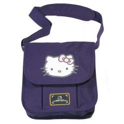 gibeciere verticale fashion hello kitty violet