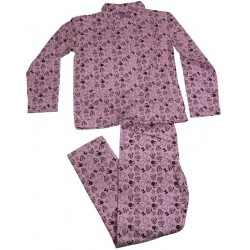 pyjama minnie flanelle rose (8 à 14 ans)