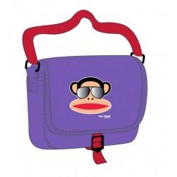 sac besace paul frank à lunettes violet