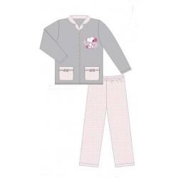pyjama snoopy flanelle ash (2 à 6 ans)