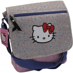 sac postier city sport hello kitty liberty fleur beige
