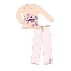 pyjama disney minnie oops beige (2 à 6 ans)