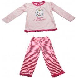 pyjama angel cat sugar rose (2 à 6 ans)