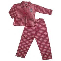 pyjama disney minnie pin up rose (4 à 12 ans)