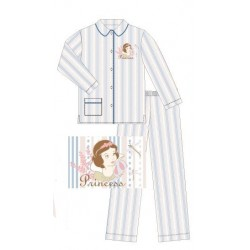 pyjama disney blanche neige bleu (2 à 6 ans)