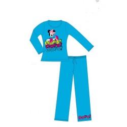 pyjama disney minnie oops bleu (2 à 6 ans)