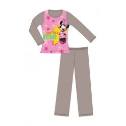 pyjama disney minnie you're a star fungi (2 à 6 ans)