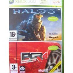 Halo 3 et PGR4 [XBOX]