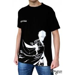 t-shirt bleach ichigo noir et blanc