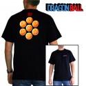 tshirt dragon ball : les boules de cristal