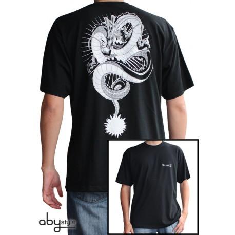 t-shirt dragon ball z shenron noir et blanc