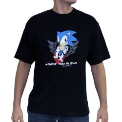 t-shirt sonic too slow