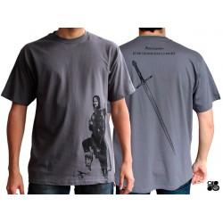 t-shirt le seigneur des anneaux : aragorn