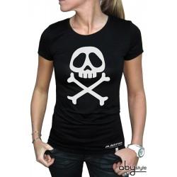 t-shirt albator femme emblème