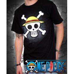 t-shirt one piece basic enfant tête de mort