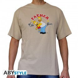 t-shirt simpsons : father of the year