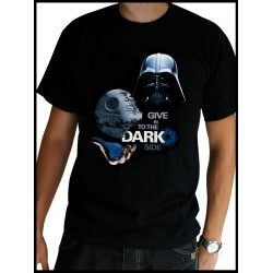 t-shirt star wars homme dark side