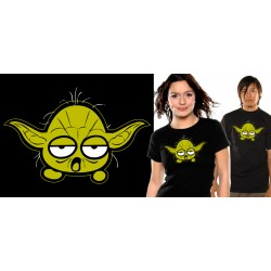 t-shirt neko star wars yoda