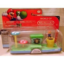Micro Playset Mario+Acorn Plains