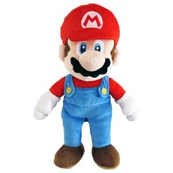 Peluche New super mario bros U: Mario