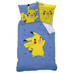 housse de couette pokémon pikachu avec taie